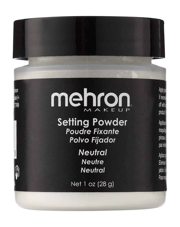 Mehron Makeup Setting Powder (1 oz) (Neutral)