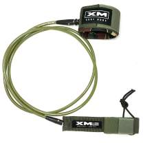 XM Surfboard Leash/Regular (.270in) - Made in USA / 3 Year Stoked Warranty