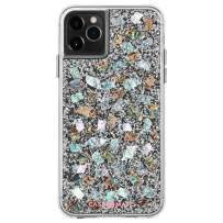Case-Mate - iPhone 11 Pro Max Case - Karat - Real Mother of Pearl & Silver Elements - 6.5 - Mother of Pearl (CM039418)