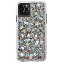 Case-Mate - iPhone 11 Pro Case - Karat - Real Mother of Pearl & Silver Elements- 5.8 - Mother of Pearl