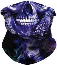 Secutoryang Womens Mens Bandanas Face Masks Seamless Multifunctional Headwear