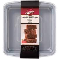 Wilton Recipe Right Square 9 x 9 Inch Covered Pan