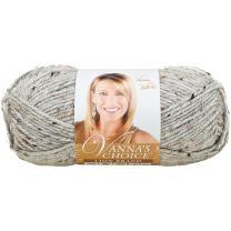 Lion Brand Yarn Lion Brand Vanna's Choice Yarn Grey Marble (401)