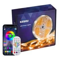 Led Strip Lights 24.6FT KESHU Color Changing APP Control with Remote for LED Light Strips Kit for Bedroom Room
