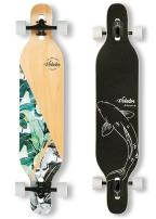 VOLADOR 42inch Freeride Longboard Complete Cruiser (Drop Through Deck - Camber concave)