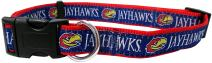 Pets First Kansas Jayhawks Collar