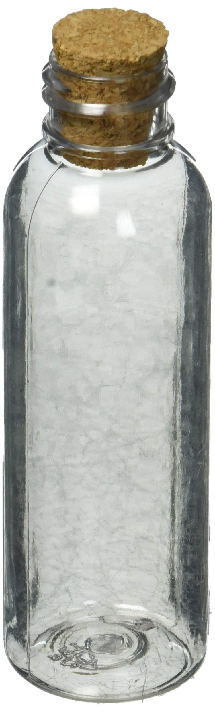 Plastic Sand Art Bottles with Cork (Pack of 24)