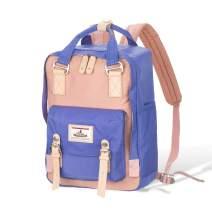 "vicnunu Backpack 14"" Waterproof Laptop Backpack for College & Student 15"" Vintage Travel Backpacks for Women & Men"