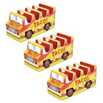 """Beistle 53394 3-D Taco Truck Centerpiece, 5"""" x 10½"""", Yellow and Red"""