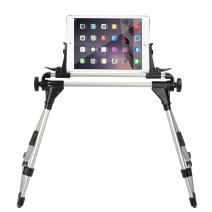 StillCool Tablet Holder for Bed, Adjustable and Foldable Tablet Stand Holder Fit for iPad iPhone Cellphone Tablet Kindle (Silver&Black)