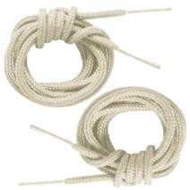 Mercury + Maia Round Thin Dress Shoelaces (2 Pair Pack) - Made in the USA