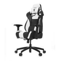 VERTAGEAR S-Line 4000 Gaming Chair, Medium, Black/White