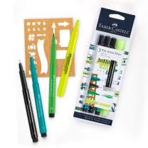 Faber-Castell Pitt Artist Journaling Art - Journal & Planner Accessory Kit