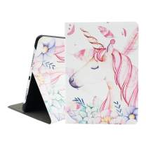 iPad Pro 9.7 Case, Mictchz Unicorn Super Slim Unicorn Lightweight Slim Tri-Fold Smart Stand Cover Protector Supports Auto Wake/Sleep for iPad Pro 9.7(Unicorn)