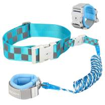 Blisstime Reflective Toddler Leash Waist Link Design[New Version]-Anti Lost Wrist Link for Toddlers,Baby Leash for Toddlers,Child Leashes,Not Easy to Open Without Key