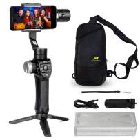 Freevision Phone Stabilizer Cell Phone Gimbal for iPhone 11 Pro Max Xs Smartphone Smove for Video Recording Filming Panorama Motion Time Lapse Object Tracking Aluminum no PC +Carry Bag -Vilta M Pro