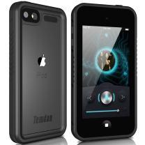 Temdan iPod Touch 5/6 IP68 Waterproof Case with Kickstand Shockproof Waterproof Case for iPod Touch 5/6