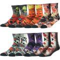 J'colour Cushioned Crew Socks, Unisex Novelty Holiday Gift Comfort Casual Socks