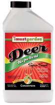 I Must Garden Deer Repellent Concentrate – 32oz: Spice Scent Deer Spray for Plants – Natural Ingredients - Makes 2.5 Gallons, Covers 10,000 sq. ft.