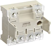 Omron P7LF-06 General Purpose Socket, Track/Surface Moutning, Finger Protect Type, For Use With G7L Series Relays