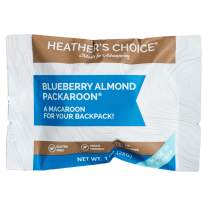 Heather's Choice Packaroons, Blueberry Almond, Wholesome, Gluten-Free, Allergen-Friendly Coconut Cookies for Backpacking, Camping, Hunting and Travel