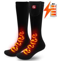 Heated Socks for Men Woman Electric Batteries Socks Foot Warmer Heating Sox for Cold Winter