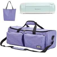 HOMEST Carrying Case Compatible with Cricut Explore Air 2, Cricut Maker, Die Cut Machine Tote, Purple (Patent Design)