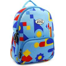 Kids Bag, PP Picador Diaper Bag Children Shoulder Bag Diaper Bag Waterproof Cute Pattern Cartoon Backpack for Kids, Boys, Girls, Toddlers, Age 10 and under (Blue Geometric Figure)