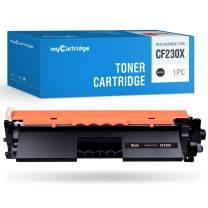 MYCARTRIDGE Compatible Toner Cartridge Replacement for HP 30X (CF230X) 30A (CF230A) High Yield 1-Black for HP Laserjet Pro MFP M227fdw M203dw Printer