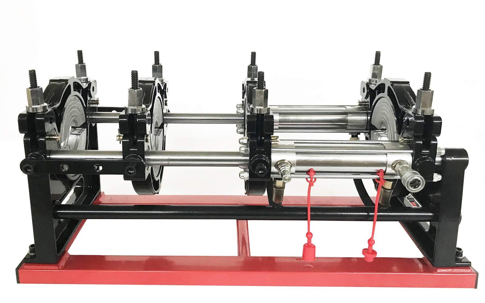 TECHTONGDA Hydraulic Pipe Welding Machine Electric Tube Butt Fusion Equipment for PE PP PB PVDF PPR