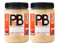 PBfit All-Natural Peanut Butter Powder, 15 Ounce (Pack of 2)