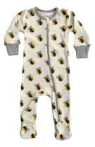 Cat & Dogma Organic Unisex Baby Footie Pajamas