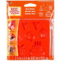 Mod Podge Mod Mold (3-3/4 by 3-3/4-Inch), 25114 Celebration