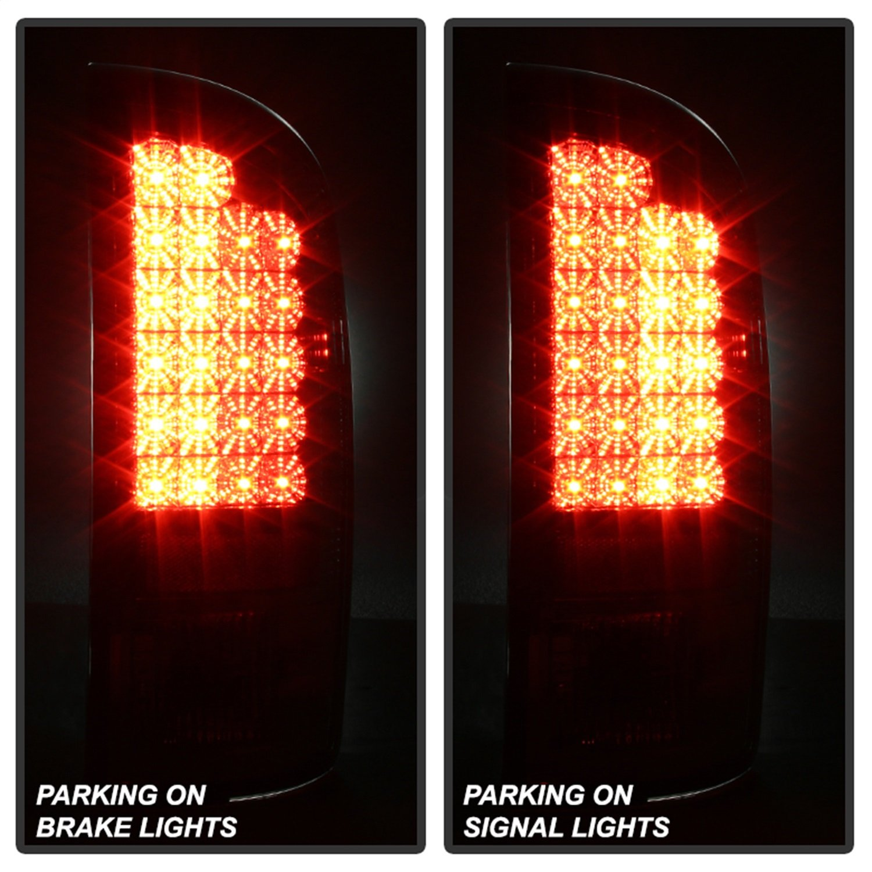 Spyder Dodge Ram 1500 02-06/ Ram 2500 02-05 /Ram 3500 02-05 LED Tail Lights - Chrome