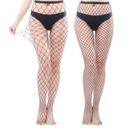High Waist Fishnet Tights Thigh High Stockings Suspender Pantyhose