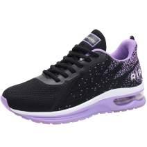 RomenSi Womens Lightweight Air Cushion Running Shoes Fashion Walking Tennis Sneakers(US5.5-10 B(M)