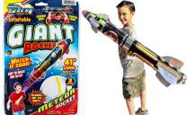 Giant Rocket Glider 41 Inches Long (1 Unit) with a Collectable Bouncy Ball by JA-RU| Item #5802-1