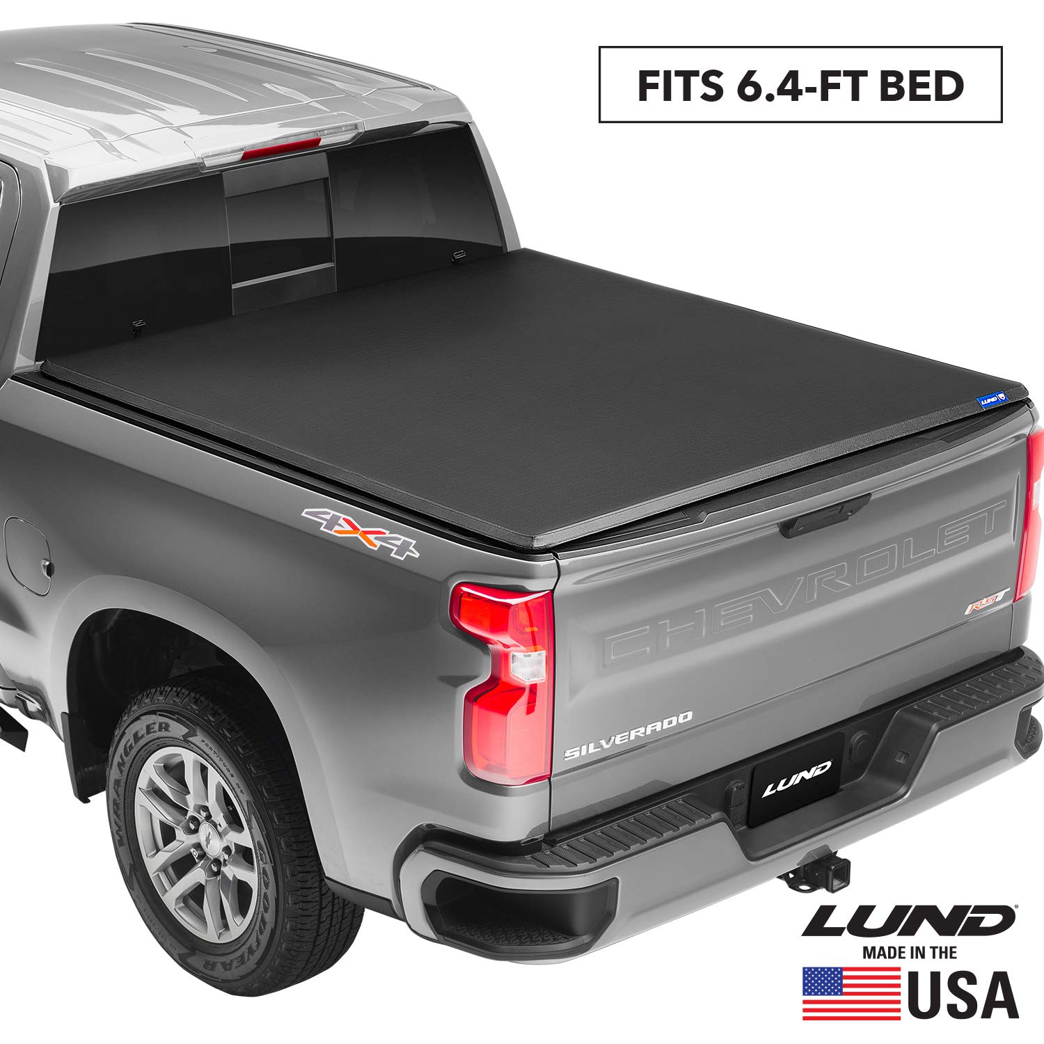 Rugged Liner Premium Soft Folding Truck Bed Tonneau Cover Fcd6509 Fits 2009 2018 19 20 Classic Dodge Ram 1500 6 4 Bed