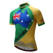Men's Cycling Jersey Bike Short Sleeve Tops T-Shirts Bicycle Clothing for Sports