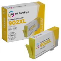 LD Remanufactured Ink Cartridge Replacement for HP 902XL T6M10AN High Yield (Yellow)