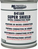 MG Chemicals 841AR Super Shield Nickel Conductive Paint, 850 mL, Metal Can, 841AR-900ML, Dark Grey, 1.43 Kg