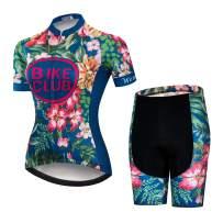 JPOJPO Women's Bike Shorts Cycling Shorts with Gel Padded,Cycling Women's Shorts