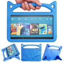 Fire HD 10 Case OQDDQO 2020 New Amazon Kindle Fire 10 Tablet Case Light Weight Shock Proof Handle Kid Proof Cover Kids Case for Fire HD 10 Tablet(9th/5th/7th Generation, 2019/2015/2017 Release) (Blue)
