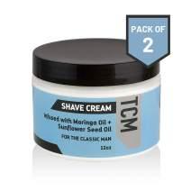 TCM Men's Irritation-Free Shaving Cream 2-pack