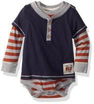 Burt's Bees Baby - Baby Boys Bodysuit, Short Sleeve and Long Sleeve One-Piece Bodysuits, 100% Organic Cotton