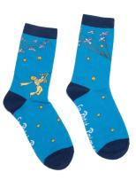 Out of Print Literary and Book-Themed Unisex Cotton Socks for Book Lovers, Readers, and Bibliophiles