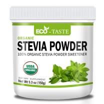 Organic Stevia Powder Sweetener Zero Calorie Sugar Substitute (5.3 oz)