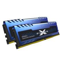 Silicon Power XPOWER Turbine Gaming DDR4 16GB (8GBx2) 3200MHz (PC4 25600) 288-pin C16 1.35V UDIMM Desktop Memory Module RAM - Low Voltage (SP016GXLZU320BDA)