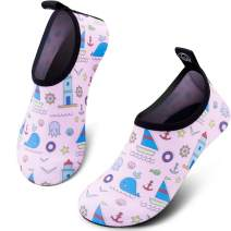 SIMARI Kids Water Shoes Girls Boys Toddler Quick Dry Anti Slip Aqua Socks for Beach Outdoor Sports SWS003