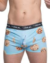 Faux Real Sublimated Mens All Over Christmas Underwear